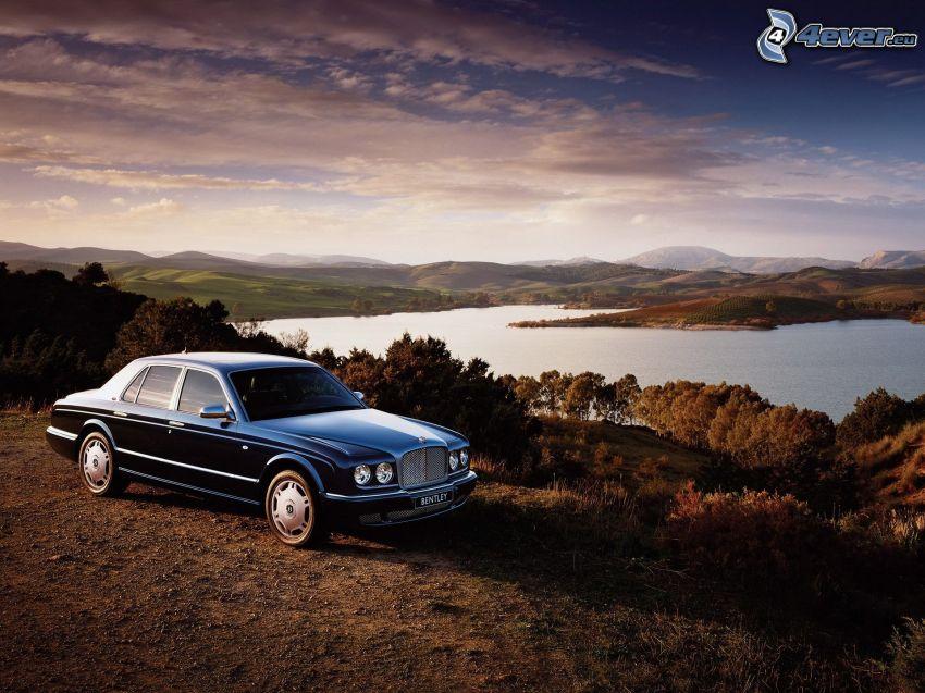 Bentley Arnage T, Fluss, Himmel