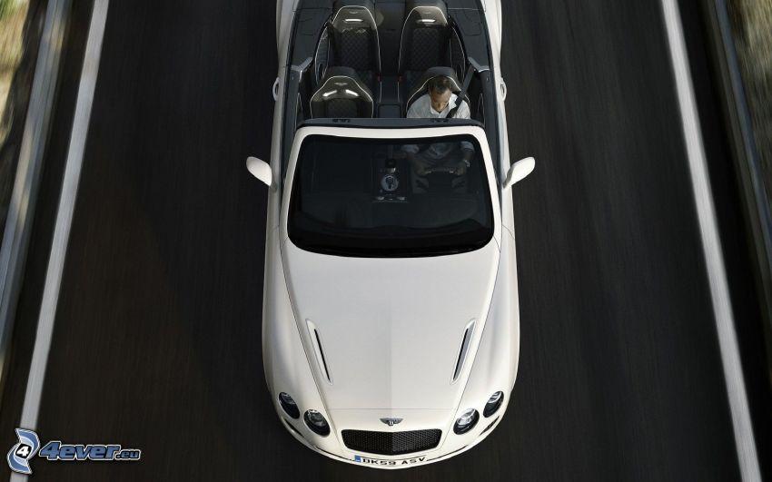 Bentley Continental, Cabrio, Geschwindigkeit, Mann