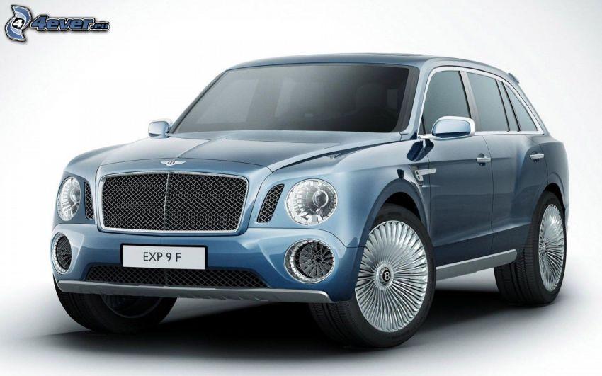 Bentley EXP 9F, SUV, Konzept