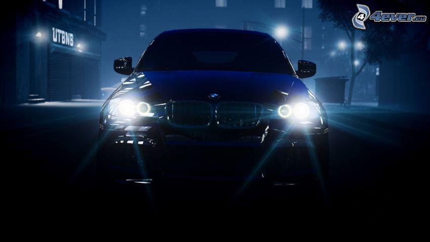 BMW, Lichter, Nacht