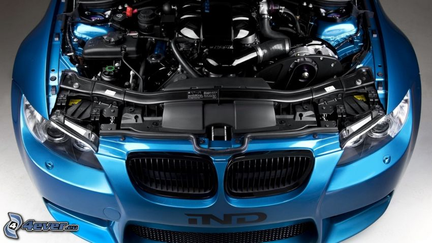 BMW, Motor, Vorderteil