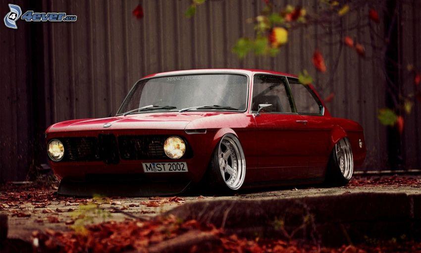 BMW, Oldtimer, lowrider