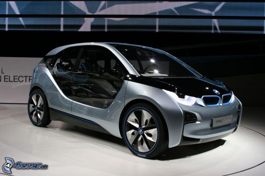 BMW i3, Ausstellung, Automobilausstellung