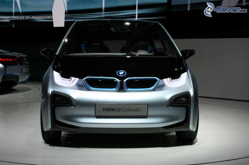 BMW i3 Concept, Automobilausstellung, Ausstellung