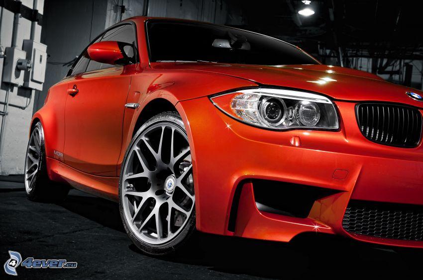 BMW M1, Reflektor, Vorderteil