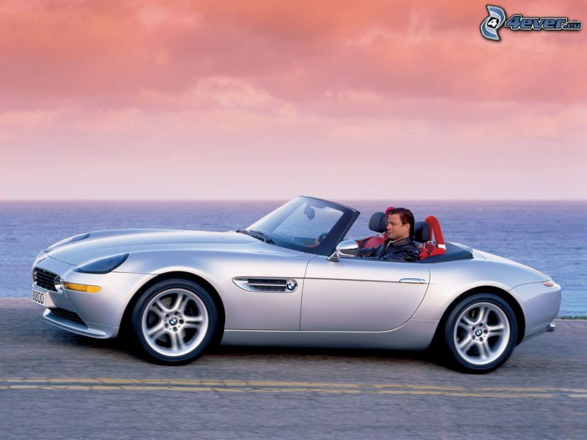 BMW Z8, Cabrio, Mann