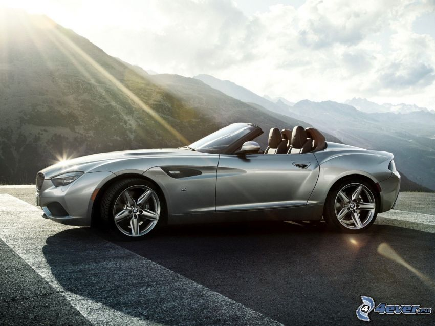 BMW Zagato, Cabrio, Sonnenstrahlen