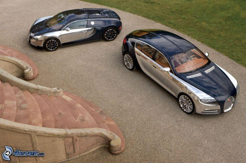 Bugatti 16C Galibier, Treppen