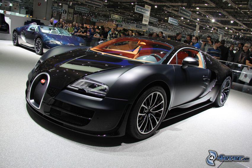 Bugatti Veyron, Automobilausstellung