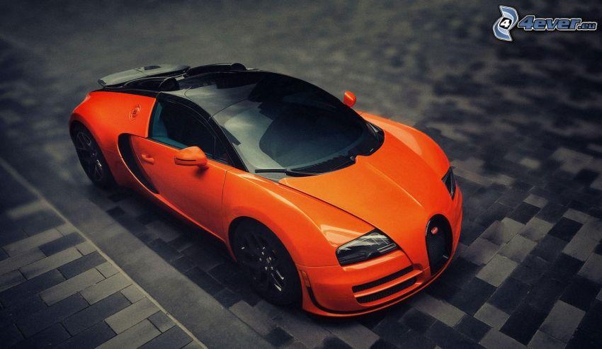 Bugatti Veyron, Bürgersteig