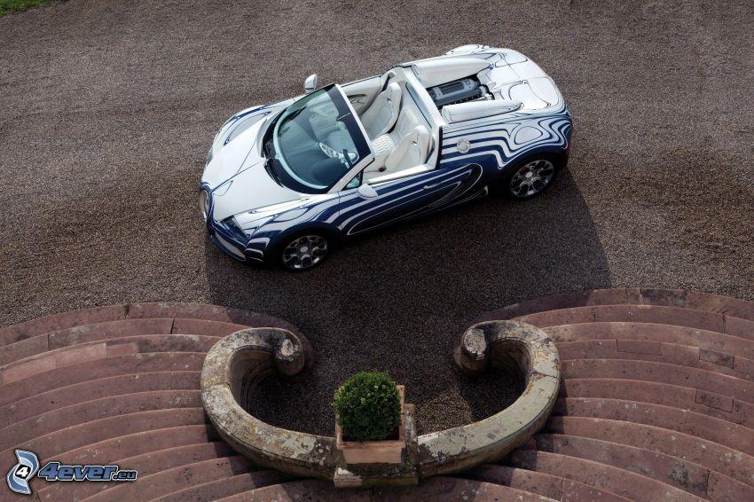 Bugatti Veyron, Treppen