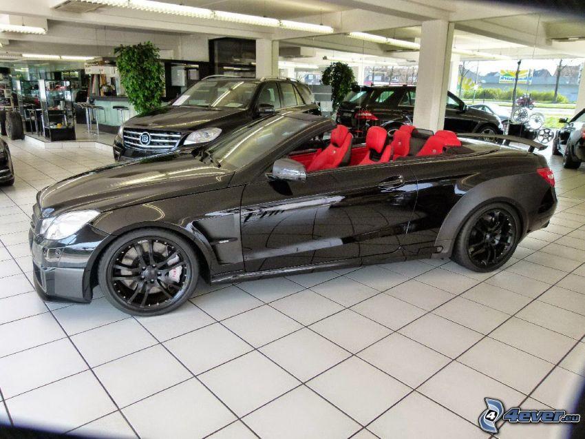 Cabriolet Brabus 800, Ausstellung, Automobilausstellung