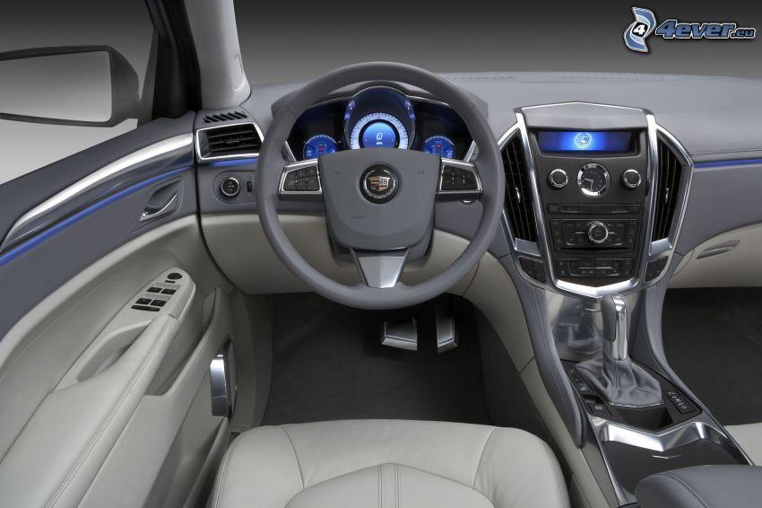 Cadillac Provoq, Innenraum, Lenkrad, Armaturenbrett