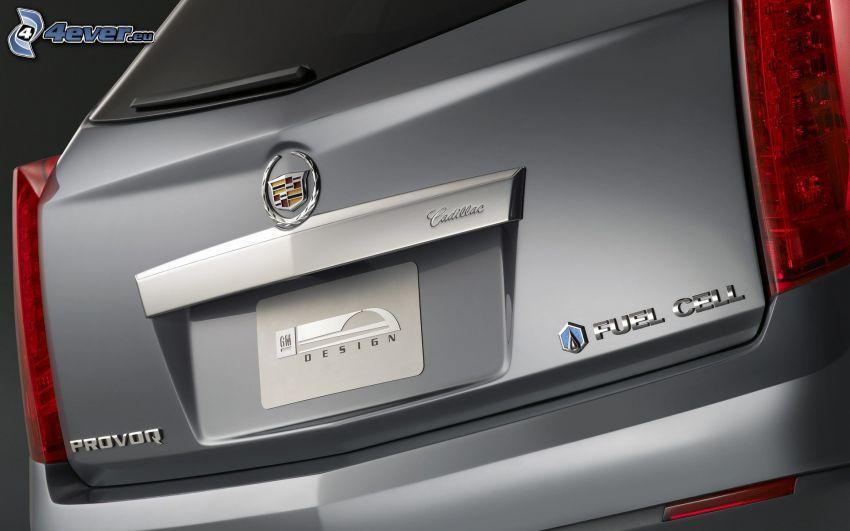 Cadillac Provoq, Koffer, Rücklicht