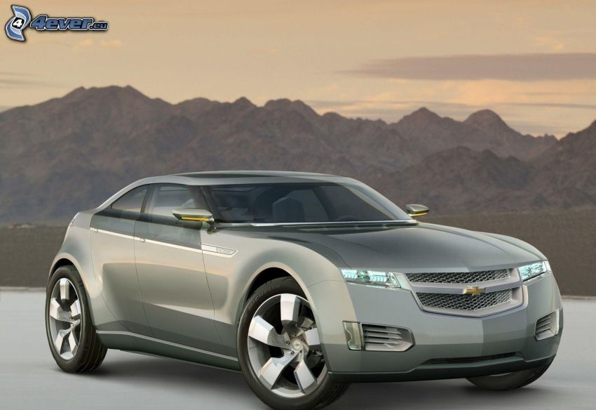Chevrolet, felsige Berge