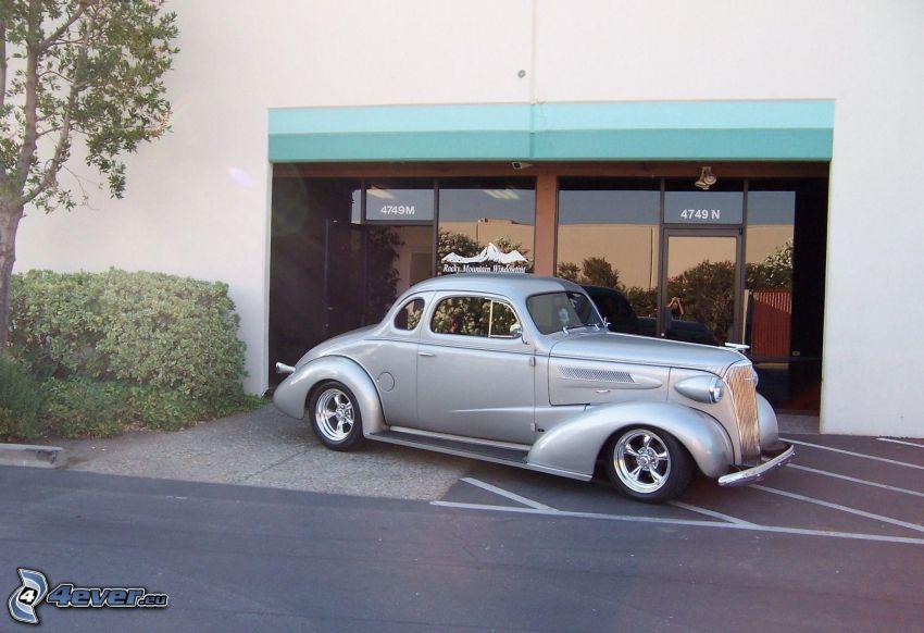 Chevrolet, Oldtimer, Gebäude