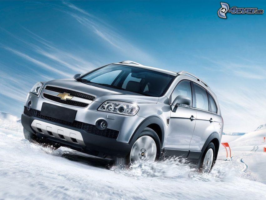 Chevrolet Captiva, SUV, Schnee