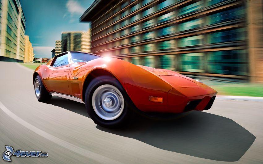 Chevrolet Corvette, Geschwindigkeit