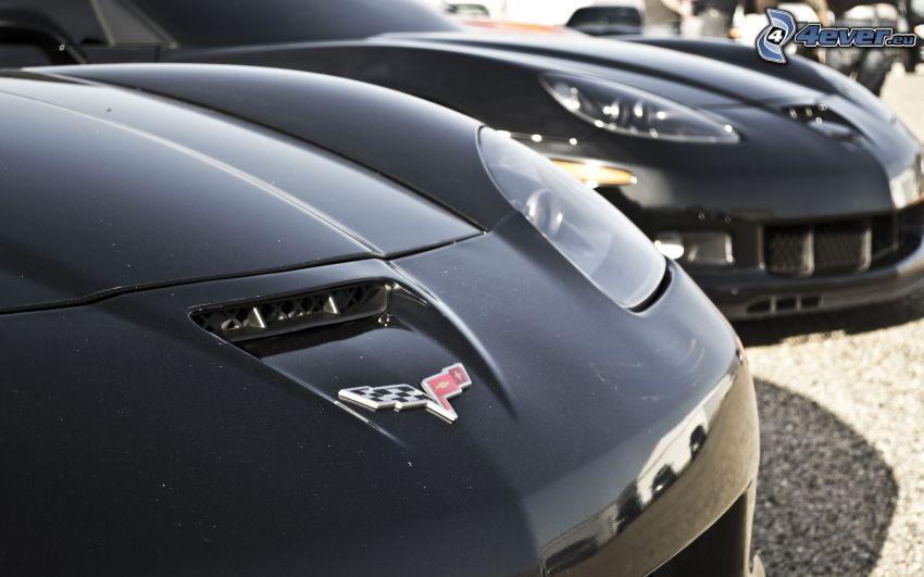 Chevrolet Corvette, Sportwagen, logo