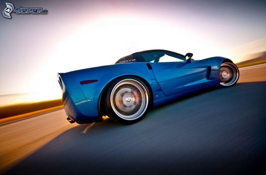 Chevrolet Corvette C6, Geschwindigkeit