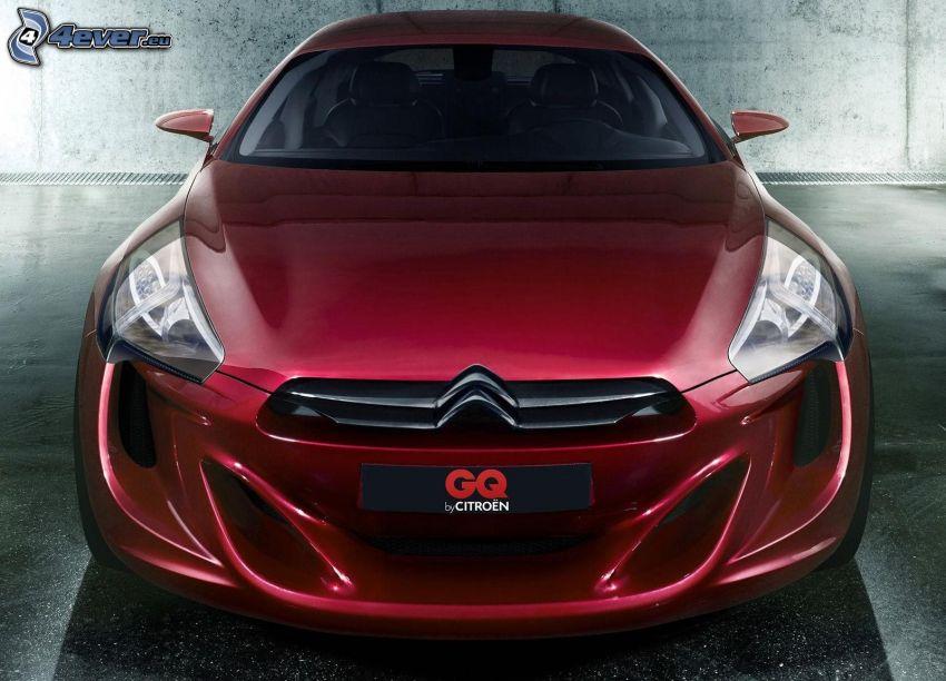 Citroën GQ, Konzept, Vorderteil