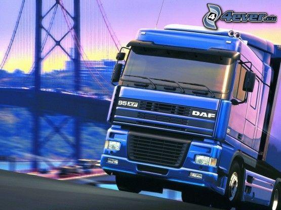 DAF 95XF SCP
