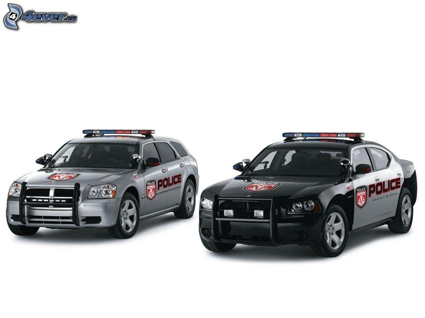 Dodge Charger, Dodge Magnum, Polizei