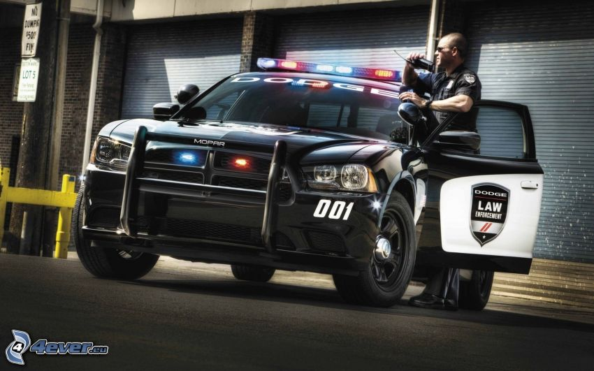Dodge Charger, Polizeiauto