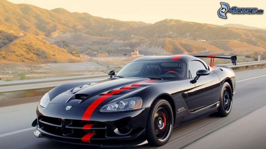 Dodge Viper SRT, Geschwindigkeit, Hügel