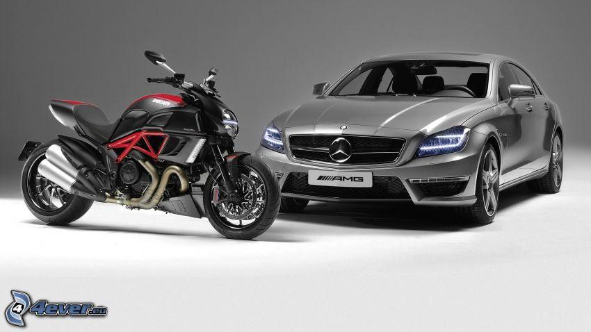 Ducati, Mercedes CLS 63 AMG
