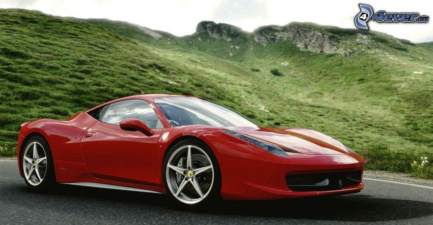 Ferrari, Hügel