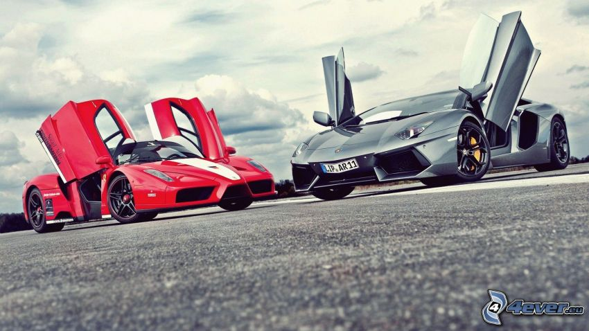 Ferrari, Lamborghini, Tür