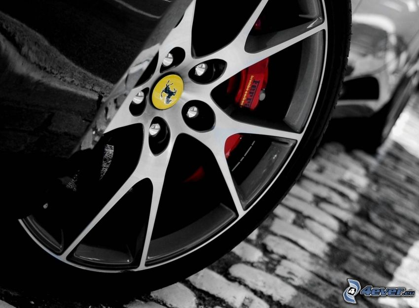 Ferrari, Rad, Felge