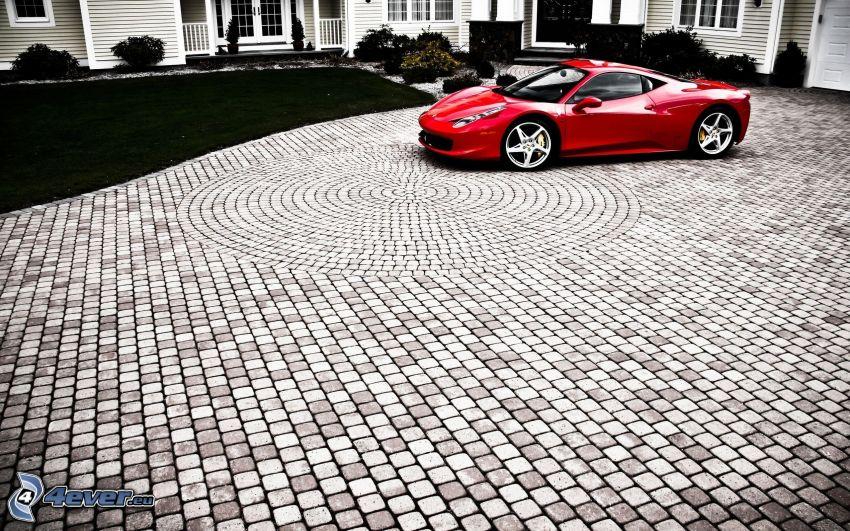 Ferrari 458 Italia, Bürgersteig