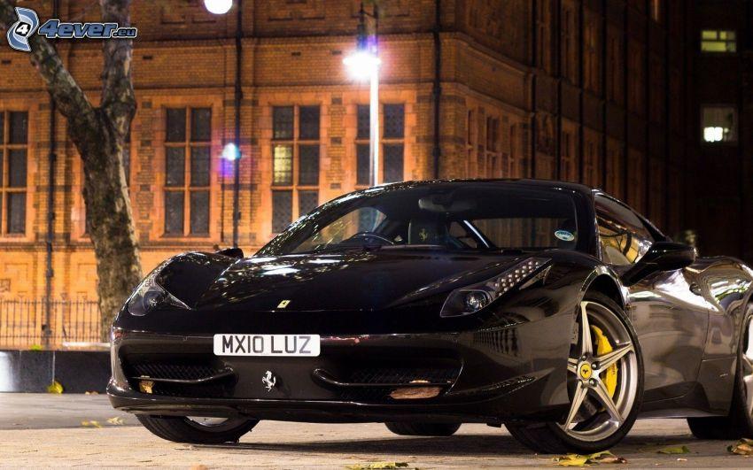Ferrari 458 Italia, Nacht