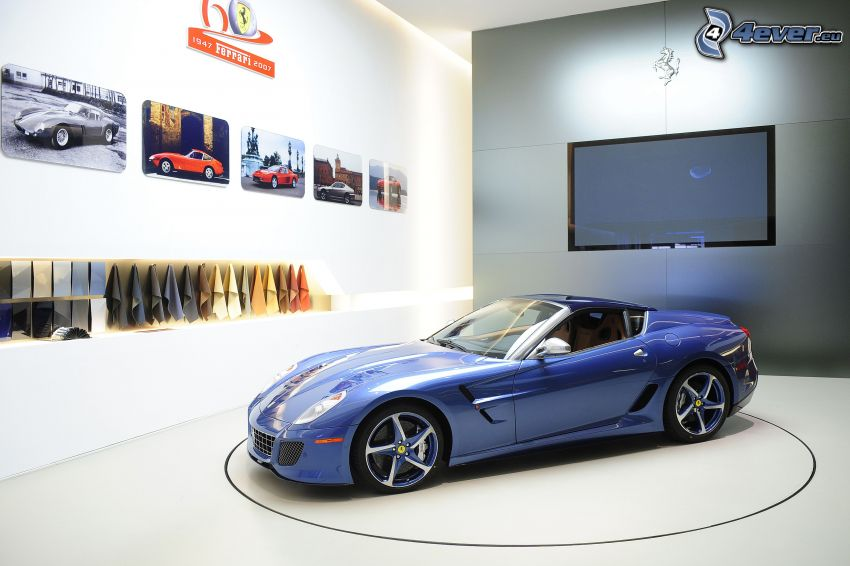 Ferrari 575M Superamerica, Ausstellung