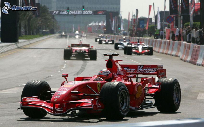 Ferrari F1, Formel 1
