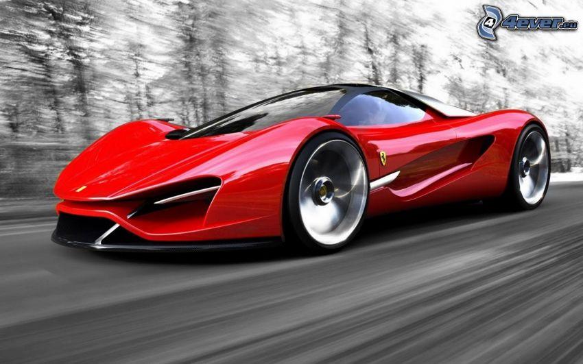 Ferrari Xezri, Geschwindigkeit, Konzept
