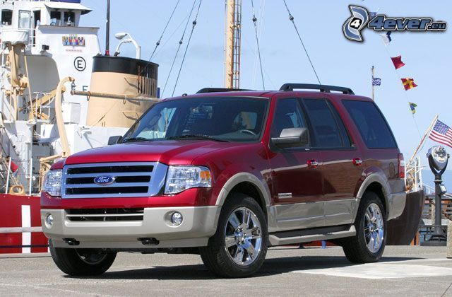 Ford Expedition, SUV, Hafen
