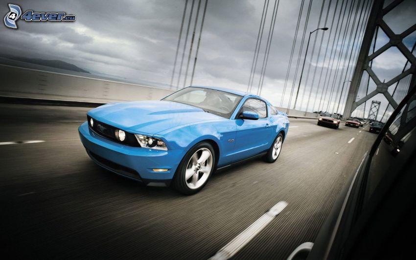 Ford Mustang, Bay Bridge, Straße