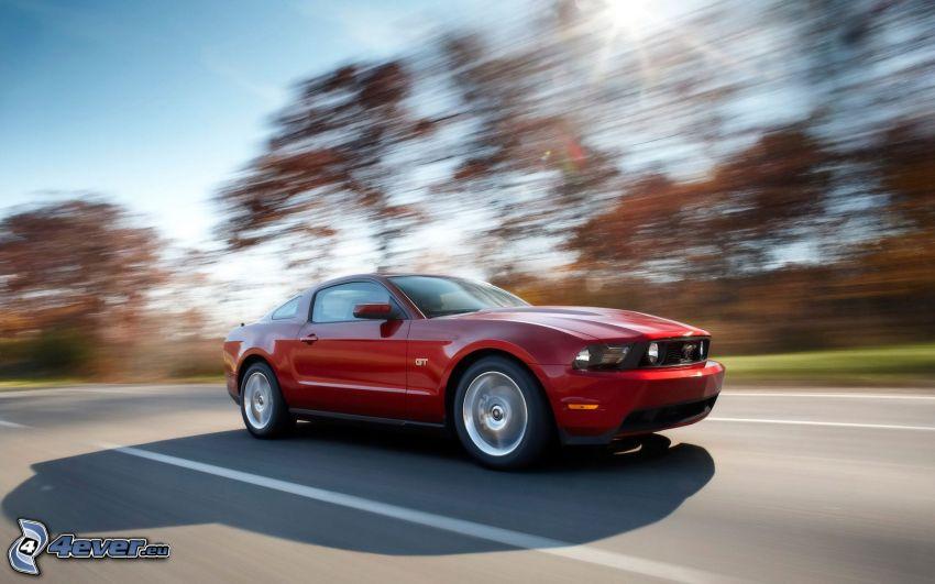 Ford Mustang, Geschwindigkeit