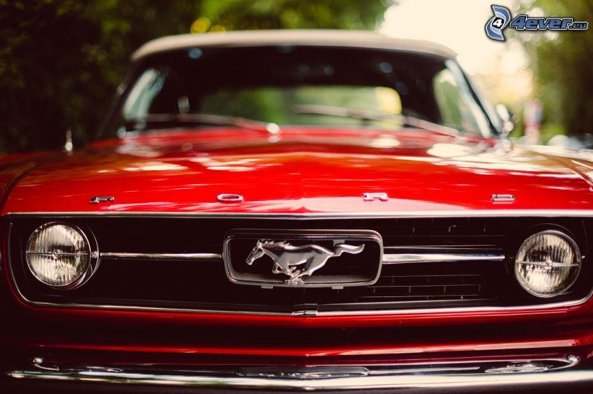 Ford Mustang, Vorderteil