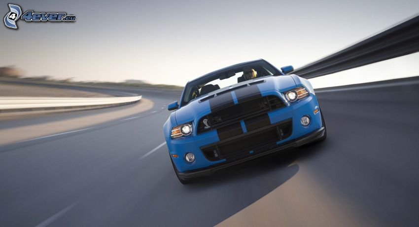 Ford Mustang Shelby, Geschwindigkeit