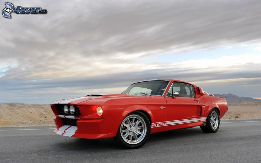 Ford Mustang Shelby GT500, Himmel