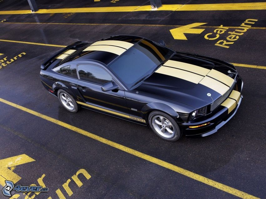 Ford Mustang Shelby GT500, Straße