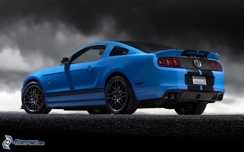 Ford Mustang Shelby GT500, Wolken