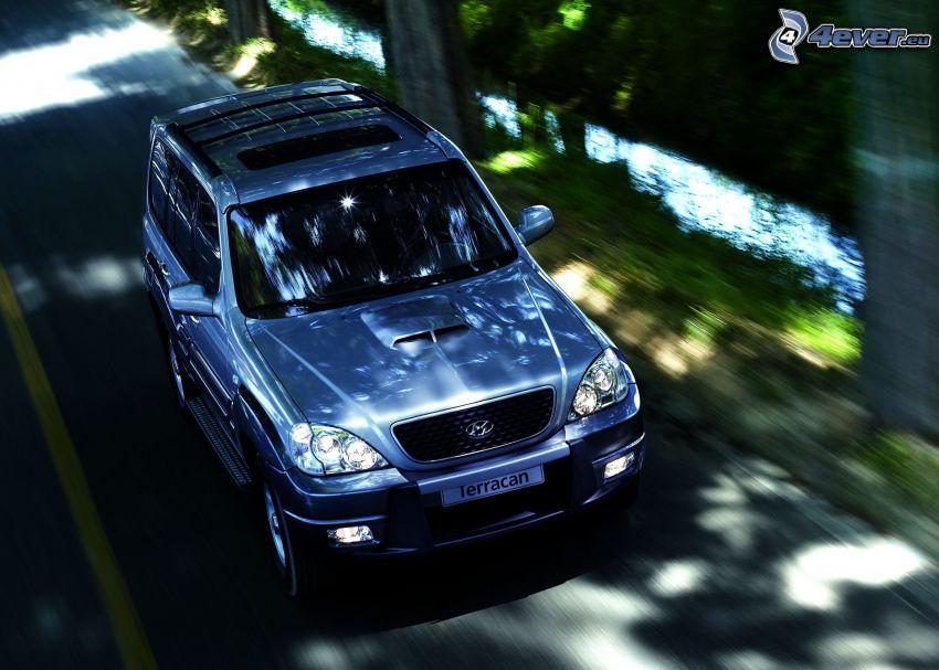 Hyundai Terracan, SUV, Geschwindigkeit