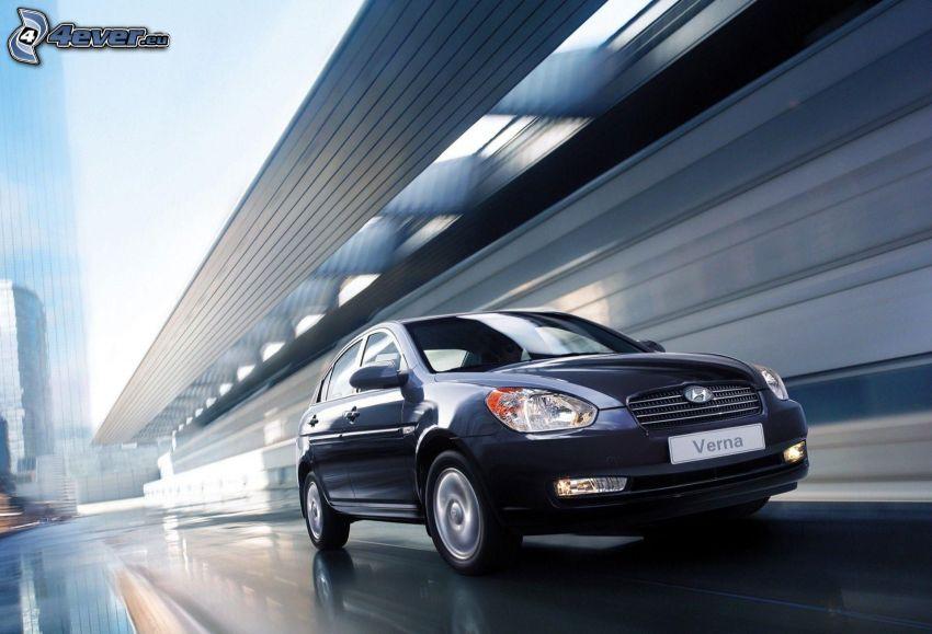 Hyundai Verna, Geschwindigkeit