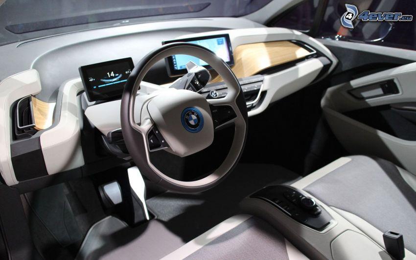 Interieur BMW i3, Lenkrad