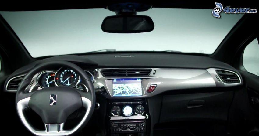 Interieur den Citroen DS3 Cabrio, Lenkrad
